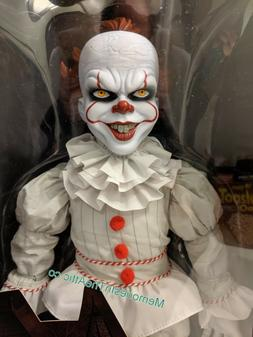 "NEW Mezco Toyz Designer Series It Pennywise Plush 18"" Figure"