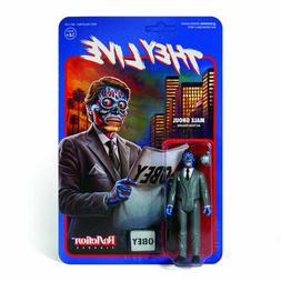 New Unpunched Super7 ReAction They Live Male Ghoul Action Fi