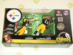 McFarlane NFL 20 Pittsburgh Steelers Troy Polamalu Hines War