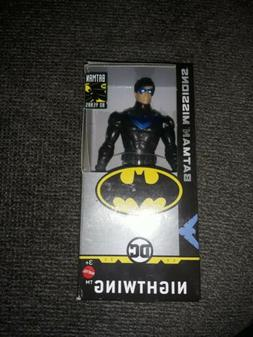 NIB BATMAN MISSIONS NIGHTWING 6 INCH ACTION FIGURE