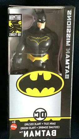 NIB DC BATMAN MISSIONS Years BATMAN DARK SUIT 6 INCH ACTION