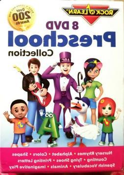 NIB-Rock 'N Learn Educational 8-DVD Preschool Collection