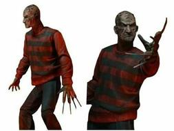 Nightmare On Elm Street Freddy Action Figure 18cm NECA 30Th