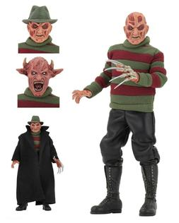 "Nightmare on Elm Street - 8"" Clothed Action Figure - New Nig"