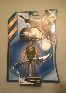 "NIP! Batman: The Dark Knight Rises- FINAL ASSAULT BANE 4"" Ac"