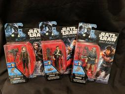 NIP Lot of 3 Star Wars Rogue One 3.75 Inch Figures CHIRRUT,