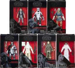 """NIP Star Wars Black Series 6"""" Action Figure With Accessories"""