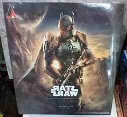 Official Star Wars Boba Fett Action Figure SQUARE ENIX Play