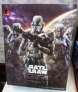 Official Star Wars Stormtrooper Action Figure SQUARE ENIX Pl