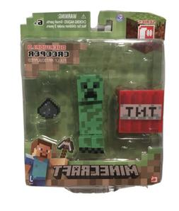 MINECRAFT Overworld Creeper Articulated Action Figure with A