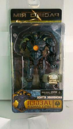 NECA PACIFIC RIM JAEGER GIPSY DANGER ANCHORAGE ATTACK ACTION