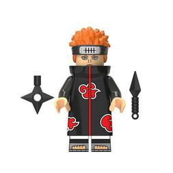 Pain Akatsuki Yahiko Rinnegan Naruto Mini Action Figure Toy