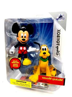 Disney Parks Exclusive ToyBox Mickey Mouse and Pluto Action