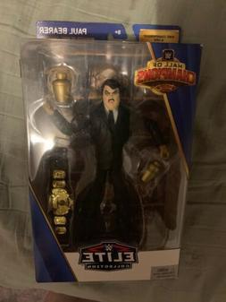 Paul Bearer WWE Action Figure Mattel Elite Hall Of Champions
