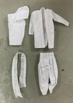 PB-NINJA-V2-WHT: White Ninja Outfit for Mezco Gomez PSCC Sli
