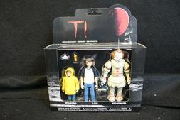"""PENNYWISE GEORGIE BILL Funko IT 3-Pack Set #1 Reaction 3.75"""""""
