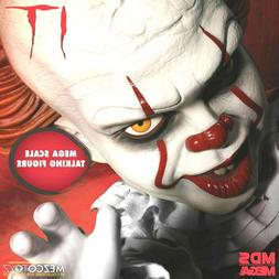 """PENNYWISE IT GIANT 15"""" TALKING CLOWN MOVIE DOLL SCARY HORROR"""