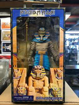 "PHARAOH EDDIE Iron Maiden Powerslave 8"" inch Clothed Action"