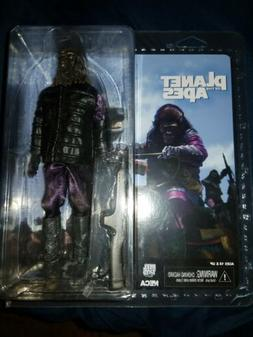 """PLANET OF THE APES Gorilla Soldier 8"""" NECA Deluxe Cloth Acti"""