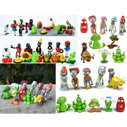 Plants vs Zombies PVC Action Figures Birthday Party Cake Top