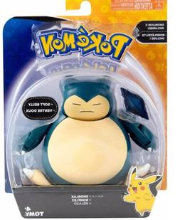 "Pokémon 5"" Snorlax SOFT BELLY - TOMY Action Figure Series"