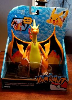 pokemon battle action mega charizard y figure