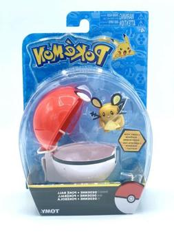 Pokemon DEDENNE Tomy Action Figure Figurine with Clip Carry