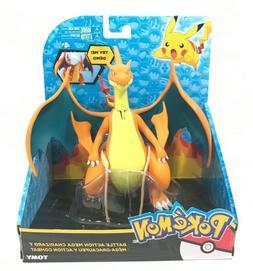 TOMY • Pokemon MEGA CHARIZARD Y, Battle Action Figure, NEW