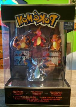 Tomy Pokemon Trainers Choice 1 4 Figure Set Mega Charizard X