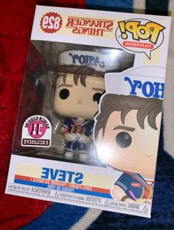 Funko Pop 13323 Television Stranger Things Dustin With Compa