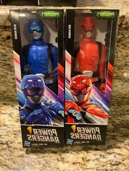 Power Rangers Beast Morphers Cybervillain Blue, Red 12-inch