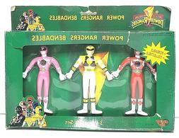 POWER RANGERS Bendables VINTAGE Toy ACTION FIGURES 3 Piece G
