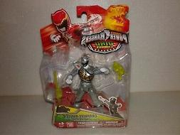 """Power Rangers Dino Charge GRAPHITE POWER RANGER 5"""" Action He"""