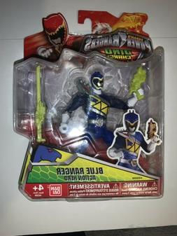 "Power Rangers Dino Charge Saban Ban Dai New 5"" Figure. BLUE"