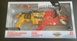 Power Rangers Dino Super Charge Yellow & Red T-Rex Morphers