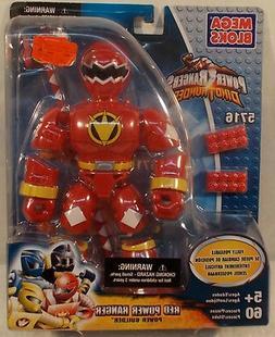 Power Rangers Dino Thunder - Mega Bloks Red Ranger Figure Le