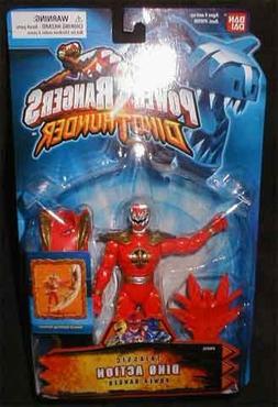 Power Rangers Dino Thunder Triassic Dino Action Red Power Ra