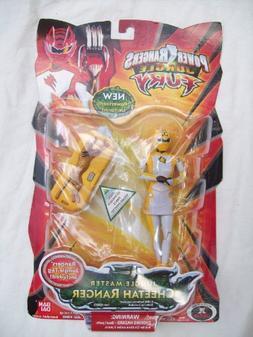 Power Rangers Jungle Fury Yellow Cheetah Master Ranger Rare