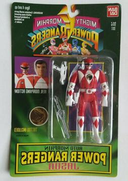 Power Rangers Legacy Auto Mighty Morphin Jason Red Ranger Ac