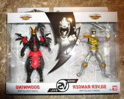 Power Rangers Dino Charge Good vs Evil Silver Ranger Doomwing Legacy Collection
