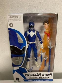 Power Rangers Lightning Collection Mighty Morphin Blue Range