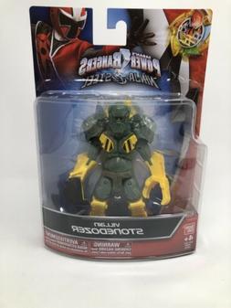Power Rangers Ninja Steel - 5-Inch Villain Stonedozer Action