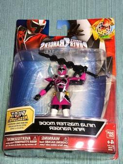 Power Rangers Ninja Steel Ninja Master Mode Pink Ranger Acti