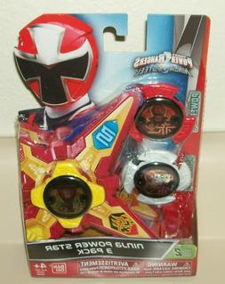 Power Rangers Ninja Steel - Ninja Power Star 3 Pack, #43760