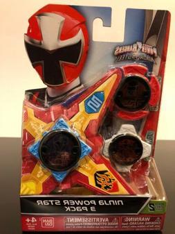 Power Rangers Ninja Steel - Ninja Power Star 3 Pack, #43757