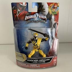 Power Rangers Ninja Steel Yellow Ranger Action Hero Figure -