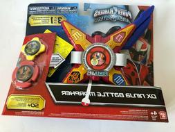 Power Rangers Red Ninja Steel DX Ninja Battle Morpher New wi