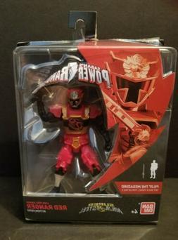 "POWER RANGERS Super Ninja Steel 5"" Lion Fire Armor RED RANGE"