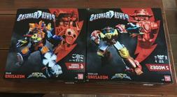 Power Rangers Super Ninja Steel Blaze And Bullrider Megazord