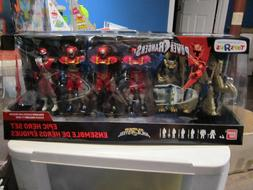 Power Rangers Super Ninja Steel EPIC HERO SET Toys R Us Excl